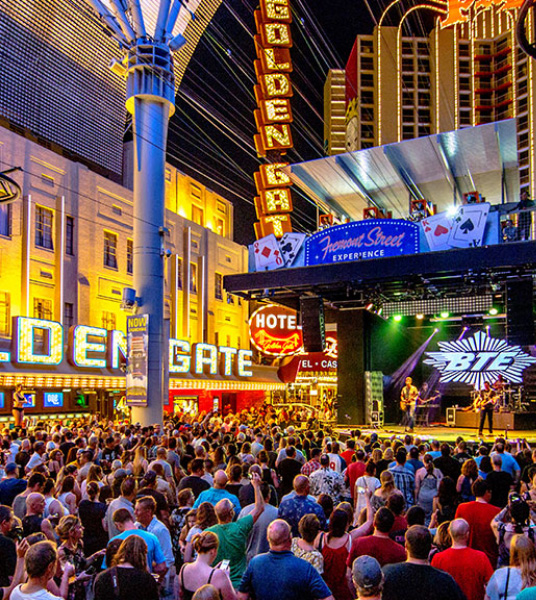 Downtown Las Vegas Entertainment - Fremont Street Experience Concerts