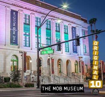 Exterior of The Mob Museum