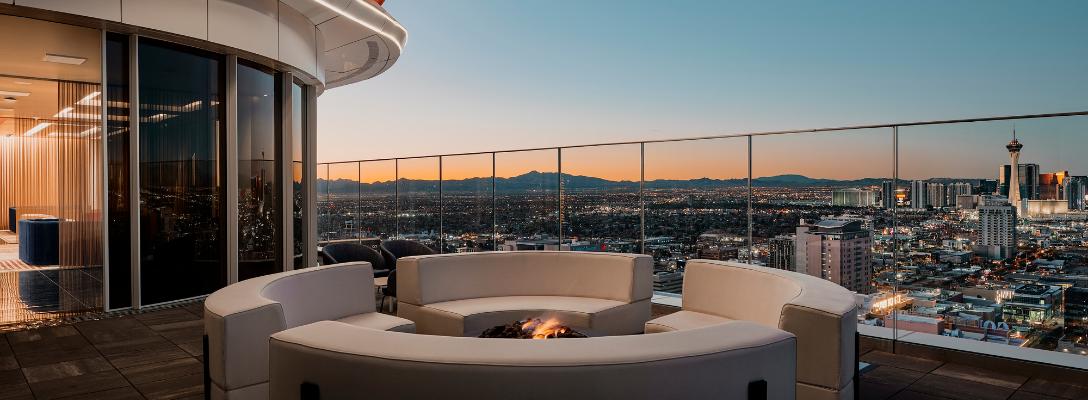 Legacy Club Rooftop Bar in Las Vegas