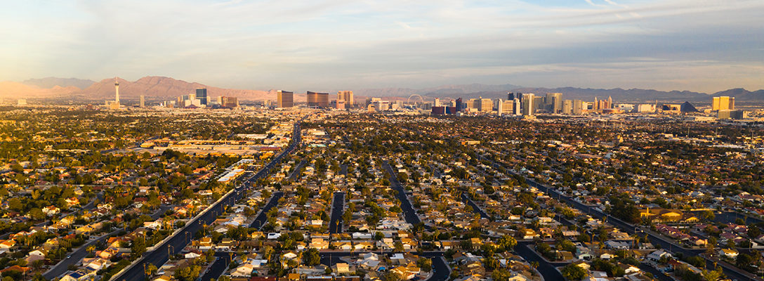 Skyline of Las Vegas During the Day