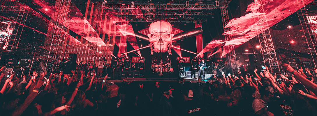Stage Setup at Las Rageous Music Festival in Las Vegas